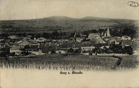 Ancy sur Moselle.