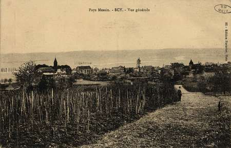 Pays Messin. Scy. Vue générale