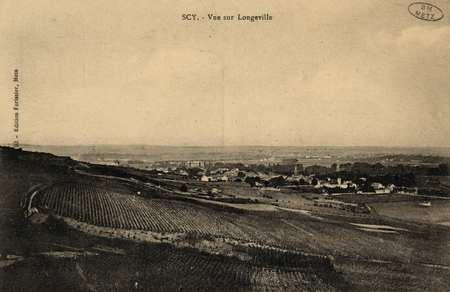 Scy. Vue sur Longeville