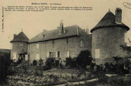 Mars-la-Tour. Le Château…