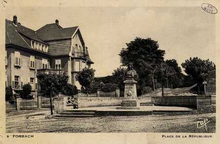 Forbach. Place de la République