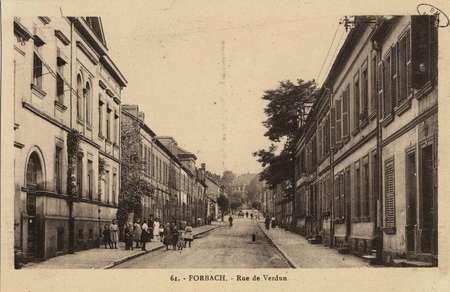 Forbach. Rue de verdun