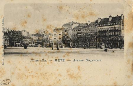 Römerallee - Metz - Avenue Serpenoise