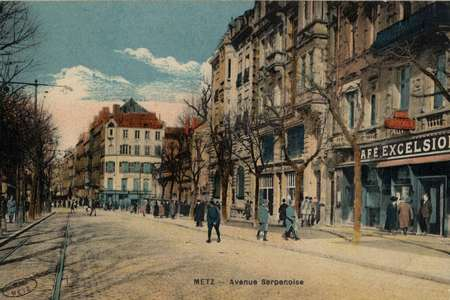 Metz. Avenue Serpenoise
