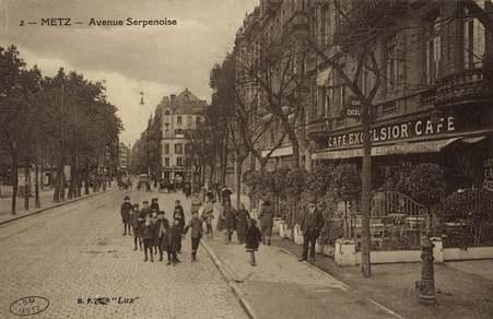 Metz. Avenue Serpenoise