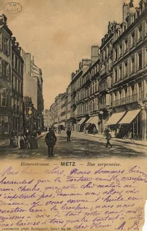 Römerstrasse. Metz. Rue Serpenoise