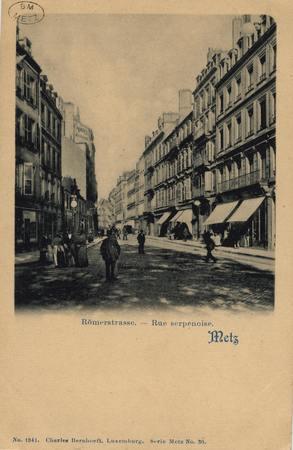 Römerstrasse. Rue Serpenoise