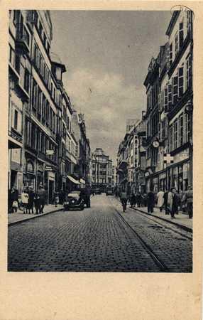 Metz. Römerstrasse