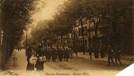 Avenue Serpenoise. Römer Allee
