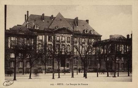 Metz. La Banque de France