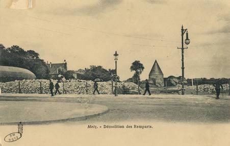 Metz. Démolition des Remparts