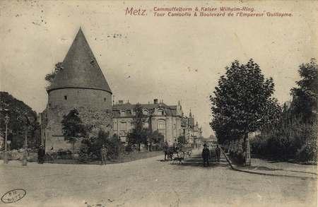 Metz. Cammuffelturm & Kaiser Wilhelm-Ring. Tour Camoufle & Bouleva…
