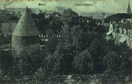 Metz. Camouffeturm