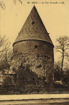 Metz. La tour Camoufle