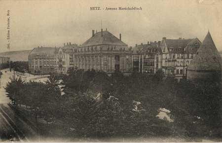 Metz. Avenue du Maréchal Foch