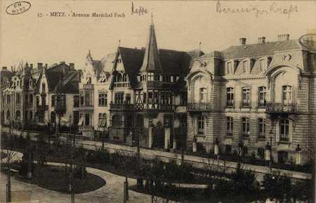 Metz. Avenue Maréchal Foch