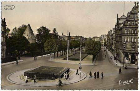 Metz. Place Déroulède et Avenue Foch