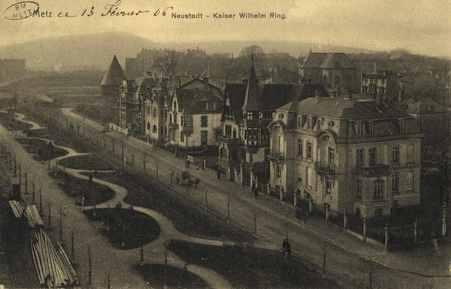 Metz. Neustadt.-Kaiser Wilhelm Ring.