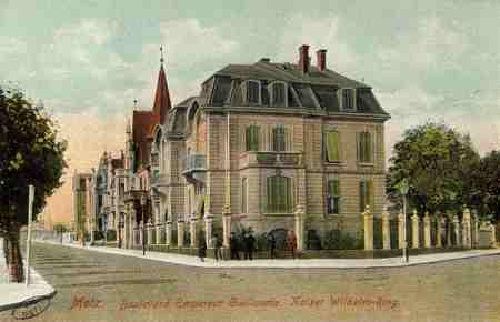 Metz. Kaiser Wilhelm Ring. Avenue Empereur Guillaume
