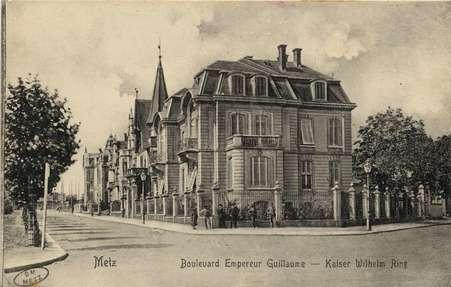 Metz. Boulevard Empereur Guillaume. Kaiser Wilhelm Ring