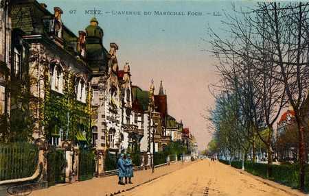 Metz. Avenue Maréchal-Foch