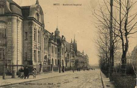 Metz. Boulevard Impérial