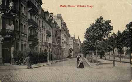 Metz,.Kaiser Wilhelm Ring.