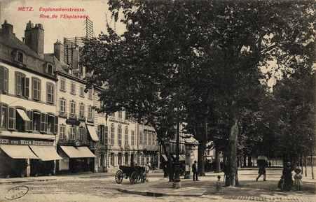 Metz. Esplanadenstrasse. Rue de l'Esplanade