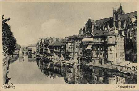 Metz. Felsenbäder