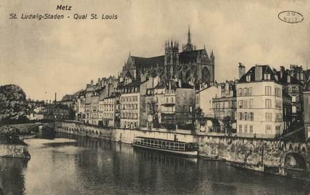 Metz. St. Ludwigs-Staden. Quai St. Louis