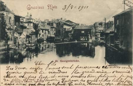 Gruss aus Metz St. Geirgenbrücke.