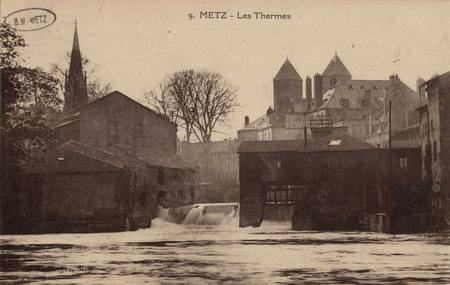 Metz. Les Thermes