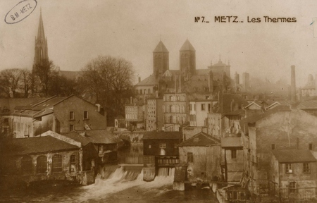 Metz. Les Thermes