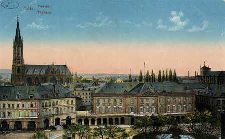 Metz. Teater. Théatre