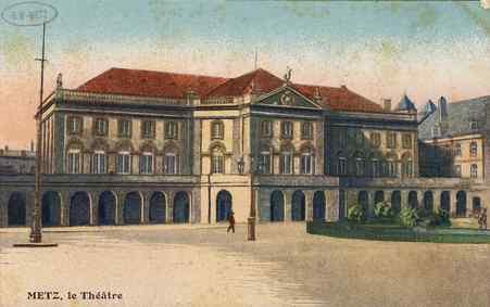 Metz. Le Théâtre