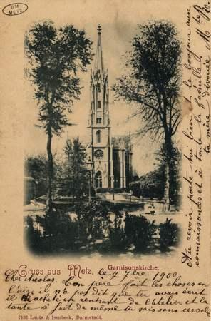 Gruss aus Metz.  Garnisonkirche