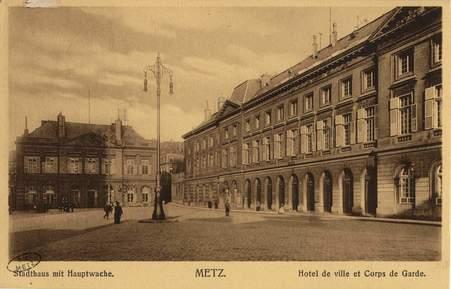Stadthaus mit Hauptwache. Metz. Hotel de ville et Corps de garde.