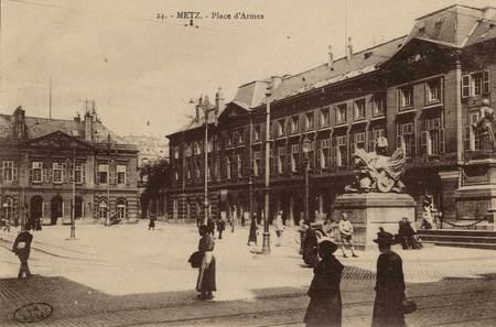 Metz. Place d'Armes.