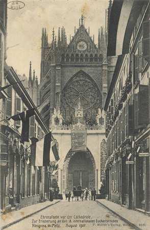 Ehrenpforte vor der Cathedrale. Zur Erinnerung an den 18. internationalen …