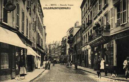 Metz. Deutschestrasse. Porte des Allemands
