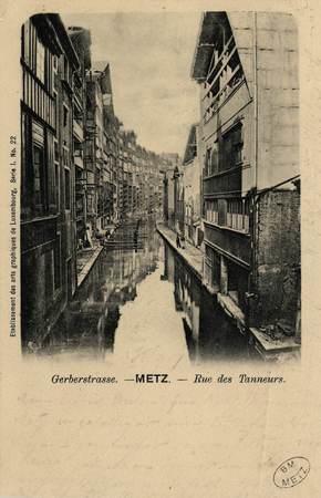 Gerberstrasse. Metz. Rue des Tanneurs