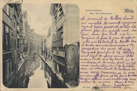 Gerbergraben. Metz. Rue des Tanneurs.