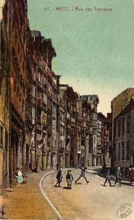 Metz. Rue des Tanneurs