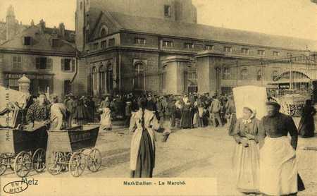 Metz. Markthallen. Le Marché