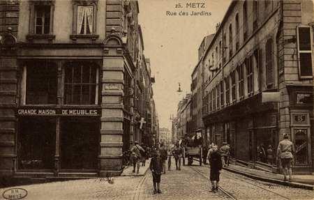 Metz. Rue des Jardins