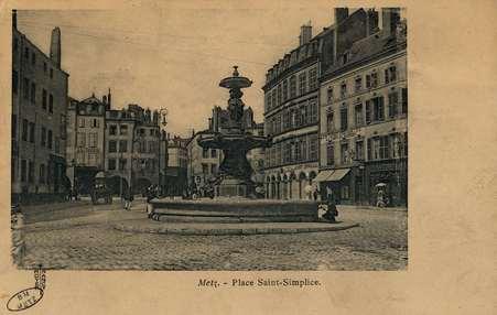 Metz. Place Saint Simplice
