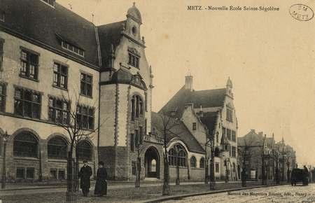 Metz. Nouvelle école Sainte-Ségolène