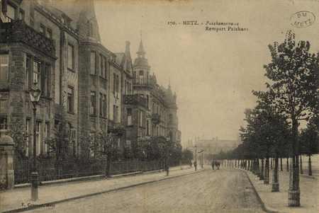 Metz. Rempart Paixhans