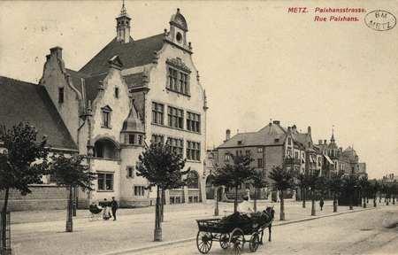 Metz. Paixhans-Strasse. RuePaixhans