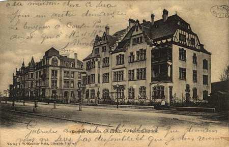 Metz. Paixhans-Strasse. Rempart Paixhans